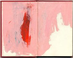 (red) by @redredday #journal #sketches #acrylic