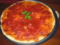 Cucina mia quanto ti amo: Pizza con farina integrale