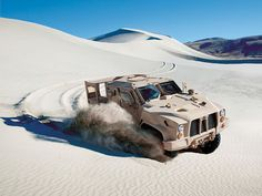This Scaled-Down Armored Truck Could Be the Next Humvee | Oshkosh's L-ATV is designed for ultimate offroad mobility. | Credit: Oshkosh Defense | From Wired.com