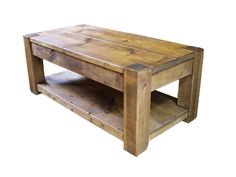 Pinewood Studios Manitobas Finest Furniture Makers Bison Occasional Furniture Rustic Plank Coffee Table