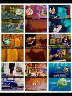 Disney Pixar Movie Characters If You Are Looking For Tsum Tsum - Pixar movies connected
