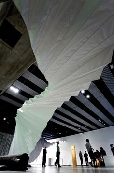Amanda Levete Architects ... Exhibition design for 'Move:Choreographing You' at the Hayward Gallery.