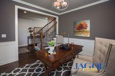 Little Rock Craftsman C2 Floor Plan - Study - Centerra Ridge - Evansville, IN
