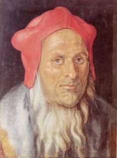 Albrecht Dürer - Portrait of a Man1520