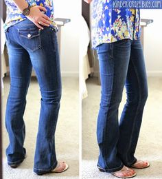 love these jeans.  I am 5'5'' but my legs are short with a long torso so I just wonder if they'd be too long