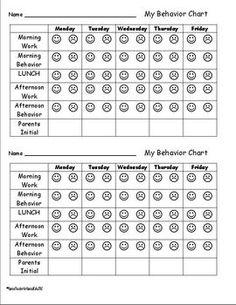 13 Best Kindergarten behavior charts images   Behavior, Classroom ...