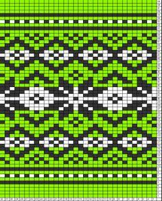 Tricksy Knitter Charts: untitled chart by Nicki Tapestry Crochet Patterns, Fair Isle Knitting Patterns, Knitting Charts, Knitting Stitches, Fair Isle Chart, Mochila Crochet, Scandinavian Pattern, Diy Vintage, Fair Isles