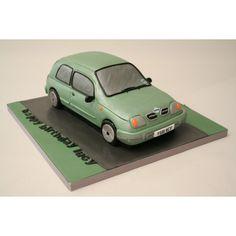 nissan micra cake - Google Search