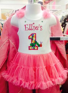 The cutest birthday outfit a little girl could have!
