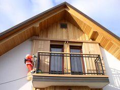 Mizarstvo Hrovat - Wooden facade - Lesena fasada Hotič http://www.hrovat.net/izdelki/lesene-fasade/lesena-fasada-hotic/