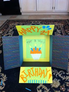 Jeff's birthday box