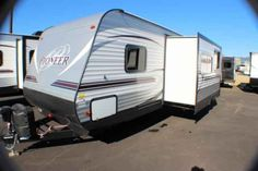 2016 New Heartland Pioneer BH270 Travel Trailer in Alabama AL.Recreational Vehicle, rv, 2016 Heartland PioneerBH270, Bike Rack, Black tank flush, Enclosed Underbelly, Night shades, Pioneer Value Package, Power Awning w/ LED Light Strip, POWER STAB JACKS, Power Tongue Jack, RVIA Seal, Spare Tire and Carrier, Winterization of Unit,
