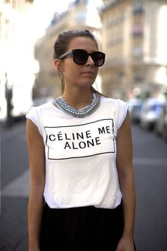 Do or Don't: Faux Fashion Brand Logo T-Shirts (I'm Looking at You RADarte!): Dressed