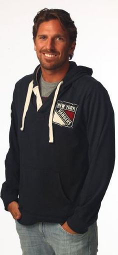 Henrik Lundqvist (NY Rangers goalie)   #30 (I have that hoodie! I was wearing it today)
