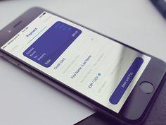 Credit Card Checkout designed by Arkadiusz Chatys. Flat Design Icons, Ios Design, Dashboard Design, Mobile App Ui, Mobile App Design, User Experience Design, Customer Experience, Balance Design, User Interface Design