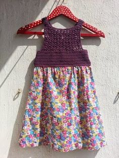 La ventana azul: 117.- Vestido de flores a crochet