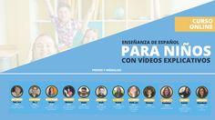 Curso online de Enseñanza de Español como Lengua Extranjera  para niños Foreign Language