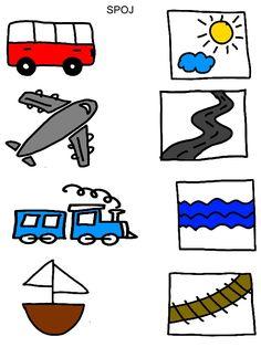 Spojovačky Montessori Activities, Alphabet Activities, Toddler Activities, Preschool Activities, Free Preschool, Preschool Worksheets, Preschool Crafts, Handwriting Worksheets For Kids, Arabic Alphabet For Kids