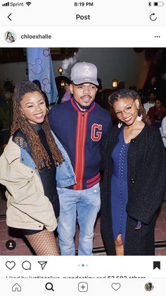 chloexhalle - chilled with Mickey x Minnie last night at the show at had THE best time! Braids Hairstyles Pictures, Hair Pictures, Chloe Halle, Chance The Rapper, Dreadlock Hairstyles, Hair Flip, Locs, Sisterlocks, Photos Of Women