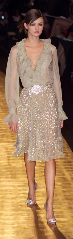 Valentino spring 2001 couture