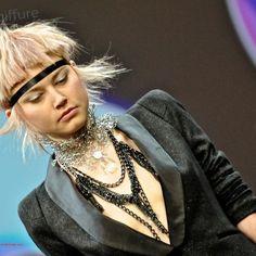 D�fil� G�rard Laurent aux Hairdressing Awards