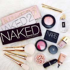 Makeup collection goals.