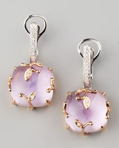Lavender Vine Amethyst Drop Earrings by Frederic Sage. Very romantic for a February mother. Amethyst Jewelry, Amethyst Earrings, Drop Earrings, Silver Jewelry, Jewelry Accessories, Fashion Accessories, Jewelry Design, Fashion Jewelry, Fashion Earrings