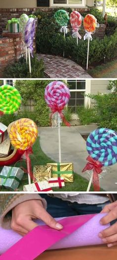 When you think of pool noodles, maybe you just think of water, sunshine and fun, however there are a lot of new and creative holiday decorations made from pool noodles. One such example is making a Christmas wreath for your front door. Most of the pool no