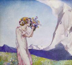 Edward Reginald Frampton ~ Pre-Raphaelite painter | Tutt'Art@ | Pittura * Scultura * Poesia * Musica |