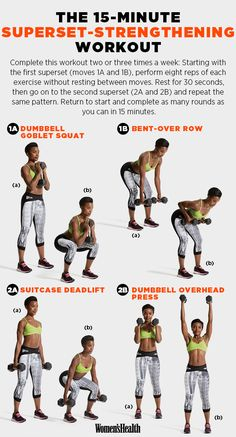 For a high-intensity strength and conditioning workout: | 29 Diagrams To Help You Get In Shape