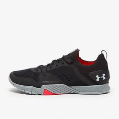 Under Armour TriBase Reign 2 - Black/Steel/Halo Gray - Mens Shoes | Pro:Direct Running Mens Grey Shoes, Next Day, Intense Workout, Training Shoes, Reign, Halo, Men's Shoes, Under Armour, Sneakers Nike