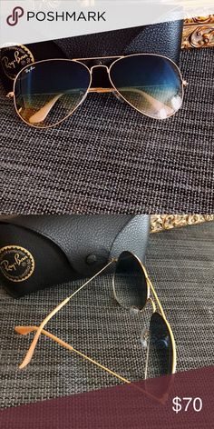 Ray-Ban authentic aviators Great condition Ray-Ban Accessories Glasses  Fashion Tips a90ad09b841c1