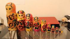 Russian nesting dolls review, completely random review Make It Yourself, Dolls, Random, Funny, Youtube, Baby Dolls, Puppet, Ha Ha, Doll