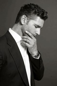 El Puffs. Eric Bana photoshoot