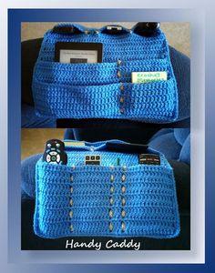 Handy Caddy CAL (Part A) - free pattern fron Crochet Memories. Crochet Car, Crochet Home, Crochet Gifts, Free Crochet, Crochet Organizer, Crochet Storage, Crochet Handbags, Crochet Purses, Purse Patterns