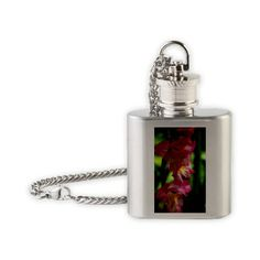Blushing Summer Beauty Flask Necklace