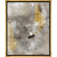 Touch of Gold II Graphic Art on Wrapped Canvas