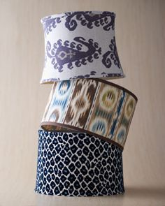 Pattern play lampshades