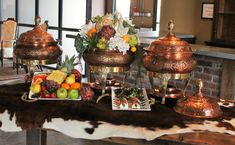 """Make your appetizers as """"appetizing"""" as possible with rental props and decor."""