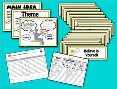 Do you have students who confuse main idea with theme? Clear up the confusion with this common core aligned, 34 page teaching pack. Posters for Theme, Main Idea, and Comparing Theme and Main Idea are available in a full color, digital format or a print friendly version. Illustrated signs are included for 18 themes commonly found in children's books.$