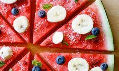 Pizza de melancia