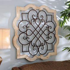Wood Isabelline Plaque   Kirklands