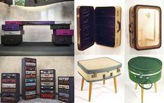 Repurpose suitcases -  EL MUNDO DEL RECICLAJE