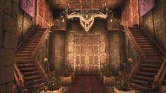 Imgur Post - Imgur Architecture Building Design, Minecraft Architecture, Minecraft Blueprints, Minecraft Projects, Exiled Kingdoms, Ark Survival Evolved Bases, Conan Exiles, Base Building, Medieval