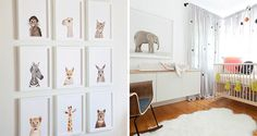 These Are the 18 Best Nursery Prints Ever Born via Brit + Co.