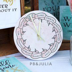 Harry Potter / Mrs. Weasley Clock / Homemade Clock / Harry