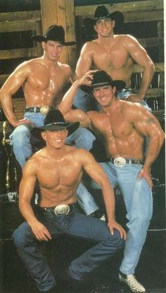 Cowboys. So hot i want them all. Please check out my website thanks. www.photopix.co.nz