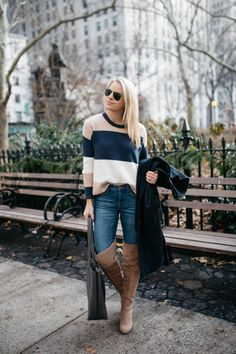 CLASSIC OVER THE KNEE BOOTS - Styled Snapshots