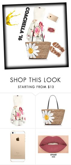 """""""Untitled #188"""" by naomy-nona ❤ liked on Polyvore featuring Kate Spade, Smashbox and Billabong"""