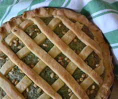 Italian sweet spinach pie